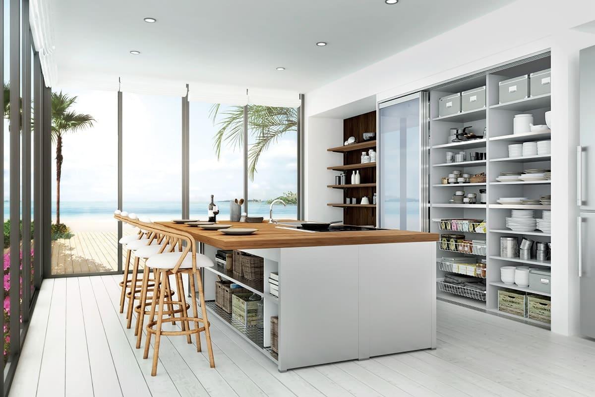キッチン収納・食器棚・カップボード | ユニモ2 | 南海プライウッド株式会社
